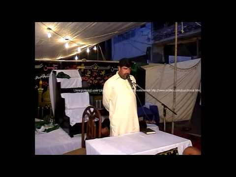 Zakir Amir Abbas Rabbani In Township 31 March 2013 video