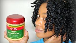 ORS Hair Mayonnaise On Natural Hair