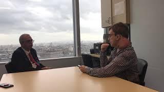 Aidan Fraser interviews Dr.  Adam Levy