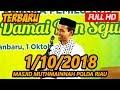 Ceramah Terbaru Ustadz Abdul Somad Lc, MA   Masjid Muthmainnah Polda Riau