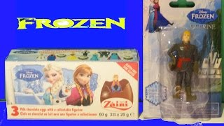 Frozen 2 Surprise Eggs From Zaini (RARE) - Kristoff Figurine Kinder Surprise La Reine des Neiges 2