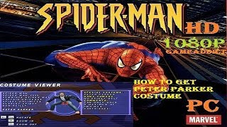 SPIDER-MAN (2000)PC HD 1080P – HOW TO GET PETER PARKER COSTUME