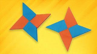 Origami easy - How To Make a Paper Ninja Star (Shuriken)