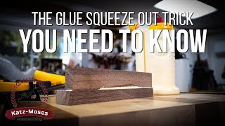 Glue Squeeze Out Trick Everyone Should Know