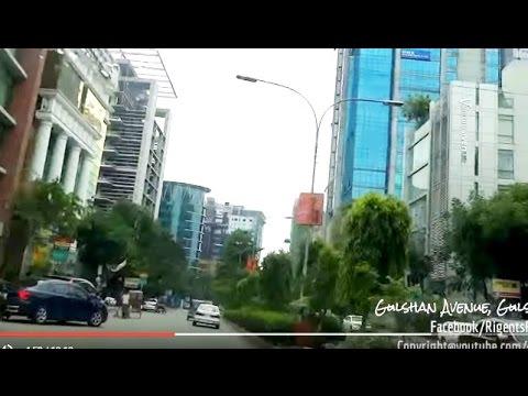 Dhaka City Drive 33 - Gulshan Area to Tejgaon Link Road - Bangladesh