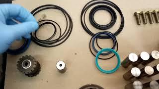 Motor hidráulico Sauer Danfoss OMT - Trocando vedações e apresentando as peças