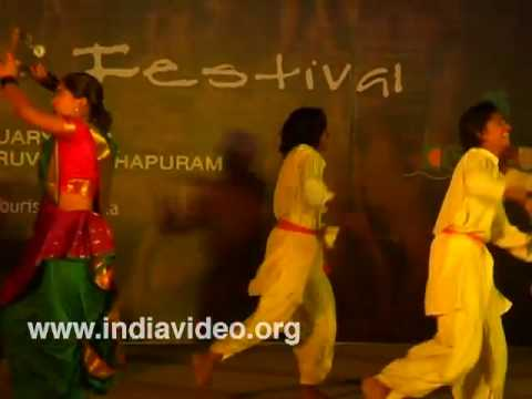 A folk dance from Maharashtra