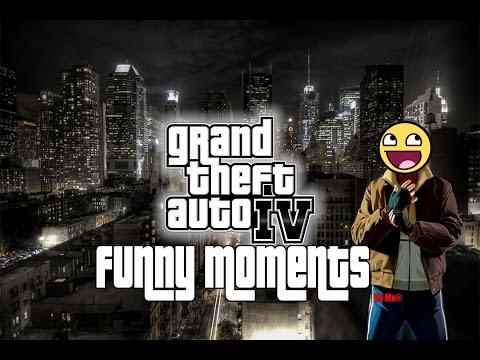 Gta 4 - Funny moments - Ep 1 (Leer descripción)