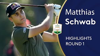 Matthias Schwab Highlights | Round 1 | 2019 Turkish Airlines Open