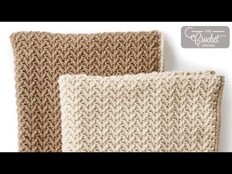 Crochet Stitches In Youtube : Crochet Arrow Stitch - YouTube