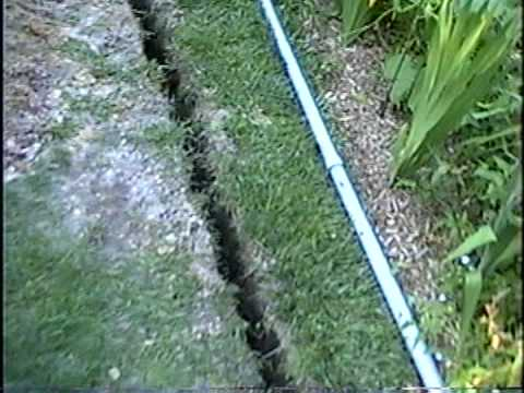 Diy 36 Misc Amp Trenches For Buried Electric For Sheds