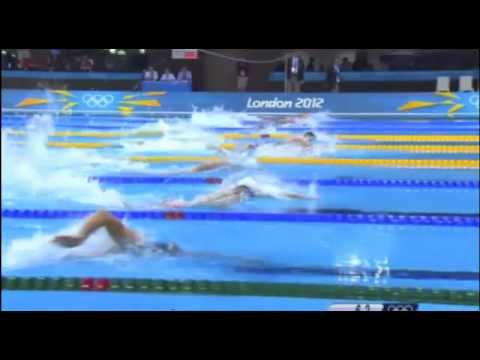 HD| Olympic USA Win/Michael Phelps 19th Medal 6:59.70 Mens 4x200m