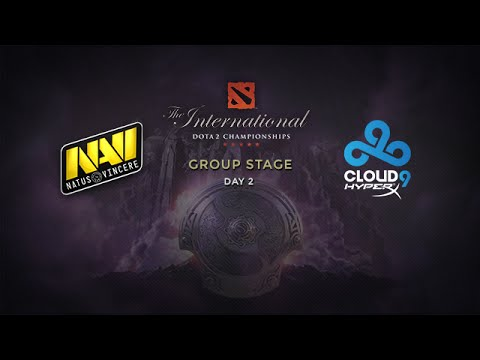 Na`Vi -vs- Cloud9, The International 4, Group Stage, Day 2