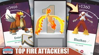 BLAZIKEN WITH BLAST BURN SHOULD YOU POWER UP? USE STARDUST FOR THESE TOP FIRE ATTACKERS | POKEMON GO