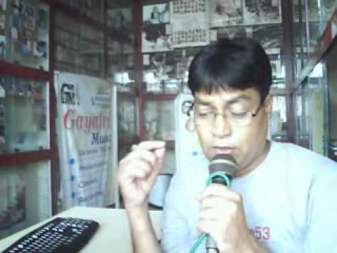 Aisa Sama Na Hota=sachin Voice Live- 22-9-13.. video