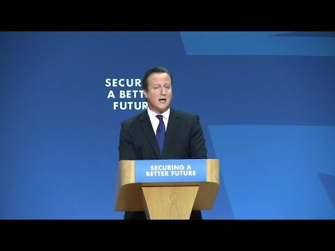 Britains Cameron unveils plan to win 2015 election