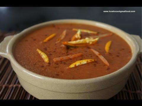 Ethiopian Food - Beetroot & Besobela Soup Recipe Keysir Shorba Vegan Fasting Amharic English