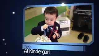 Adens First Day of Kindergarten, Picking Son Up, From Seika Yochien