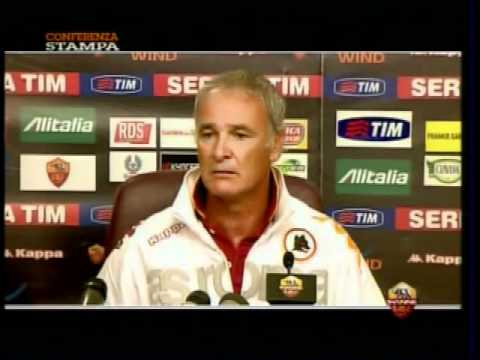 Claudio Ranieri in conferenza stampa - 18-9-2010