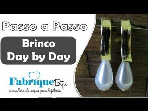 Passo a Passo #26 - Série Faça Fácil Brinco de Gota Pérola Day by Day