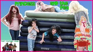PRINCESS AND THE PEA - BED CHALLENGE / That YouTub3 Family