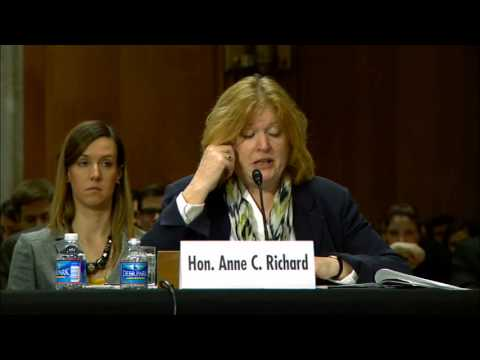 Assistant Secretary Richard Testifies on