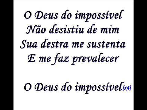 Deus Do Impossivel Play-Back