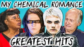 ELDERS READ MY CHEMICAL ROMANCE'S HIT SONGS (React)