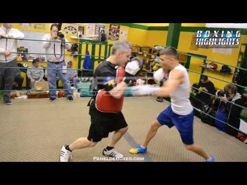 Vasyl Lomachenko TRAINING HIGHLIGHTS