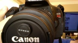 UPDATE - Canon Rebel t3i