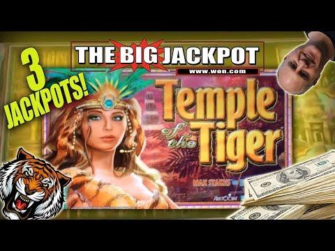 3 FUN JACKPOT$ 🐯Temple of the Tiger 🐯BONUS ROUND WIN$ 🎰 | The Big Jackpot