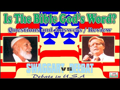 Is The Bible God's Word Question And Answer And Review  Sheikh Ahmed Deedat video