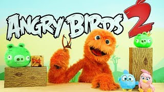 Angry Birds Película juguetes unboxing espacio jugar-DOH huevos sorpresa para los niños
