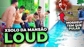 QUEM PERDER PULA NA PISCINA!! O PRIMEIRO X1 NA MANSÃO DA LOUD!!
