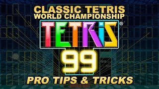 Tetris 99: Tips from the CTWC Pros!