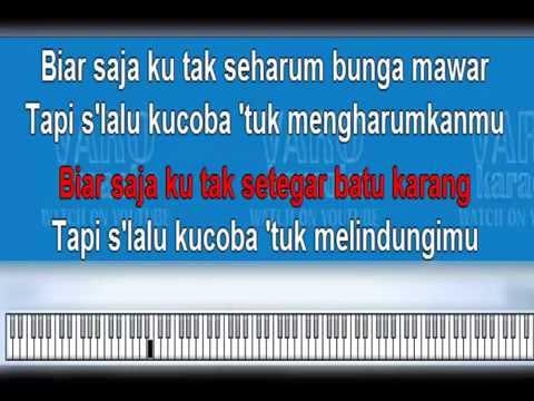 Bendera - Cokelat (Karaoke+Piano)