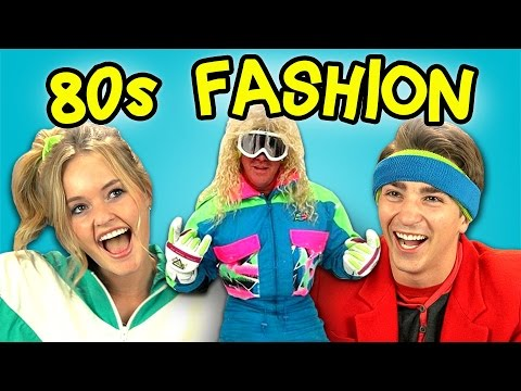 80's Fashion For Teenagers TEENS REACT TO s FASHION