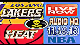 LAKERS vs HEAT Live Full Game 11.18.18 Score and Starting Lineups
