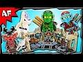 Lego Ninjago SAMURAI X CAVE CHAOS 70596 Stop Motion Build Review