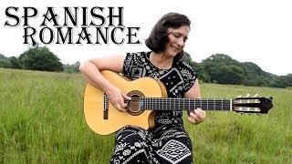 Spanish Romance (Romanza) - Classical guitar with TAB