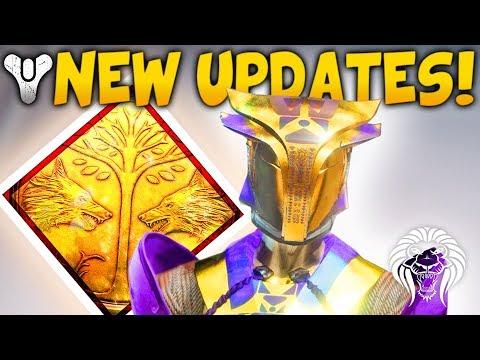 Destiny 2: NEW UPDATES & EVENTS! Next Patch, Iron Banner Loot & Faction Rally & Prestige Raid