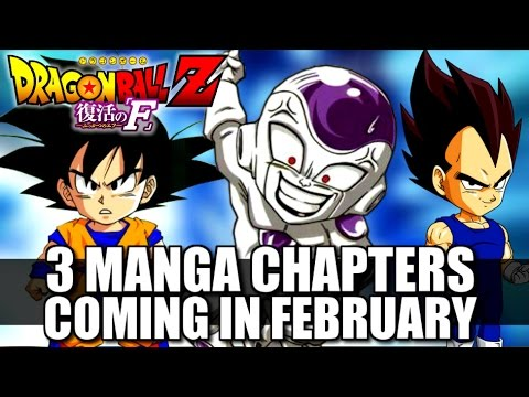Dragon Ball Z Revival Of「f」: 3 Manga Chapters Coming!! video