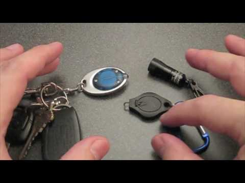 Keychain Lights: The Light You Have is the Light You Use