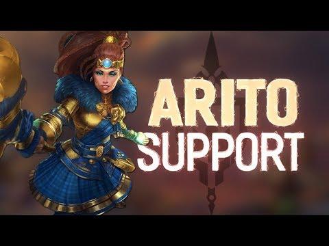 Artio Support: MAGES BLESSING PLUS ARTIO EQUALS BROKEN!!! - Incon - Smite