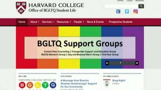 Harvard tells students gender identity can change day-to-day