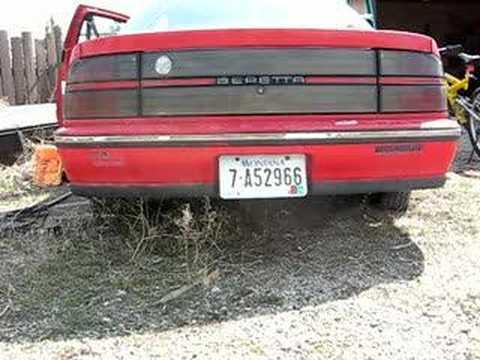 Retro car review: 1988-89 Chevrolet Beretta GTU, race on Sunday, sell ...