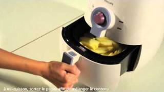 Test de la nouvelle friteuse sans huile airfryer de Philips