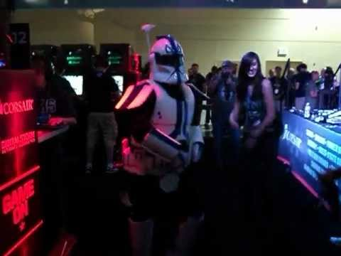 Gangnam Style Storm Trooper Cosplay Dance Party! - PAX 2012