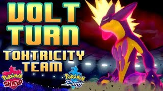 Volt Turn Toxtricity Team! Pokemon Sword and Shield Competitive Ranked Wi-Fi Battle