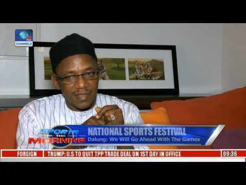 Dalung Says Nat'l Sports Festival Will Go Ahead